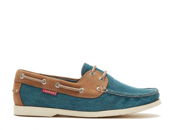 Bantham - Premium Leather and Canvas Boat Shoes