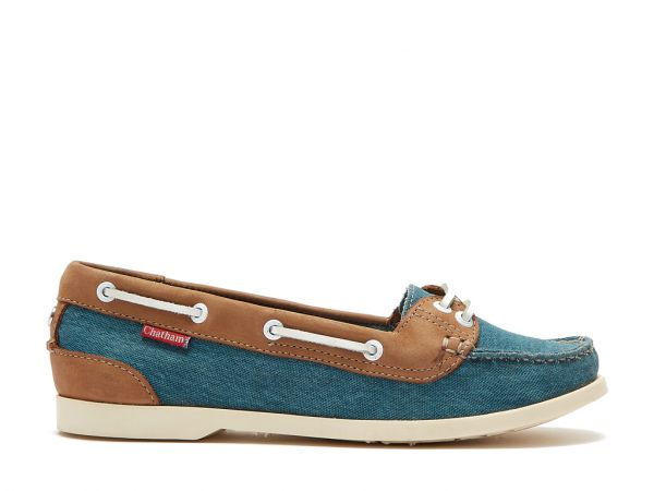 Durdle - Premium Leather and Canvas Boat Shoes