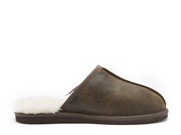 Glen - Sheepskin Mule Slippers