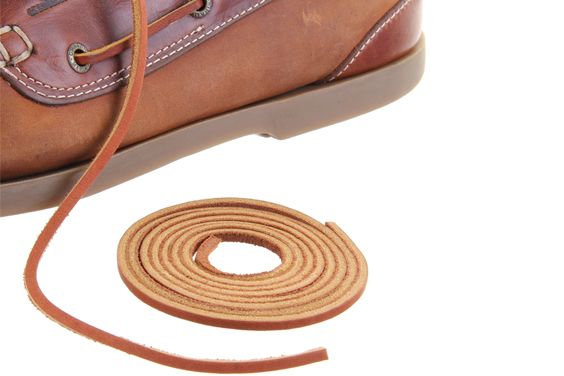 Tan Leather Laces