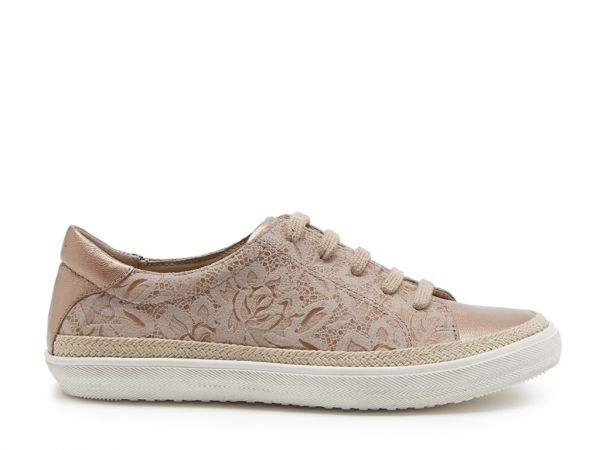 Margot - Fabric Lace-up Trainers