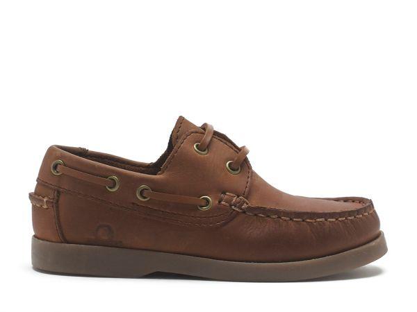 Henry - Kids Nubuck Boat Shoes
