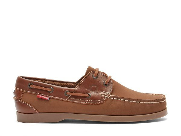 Newquay - Leather Boat Shoes