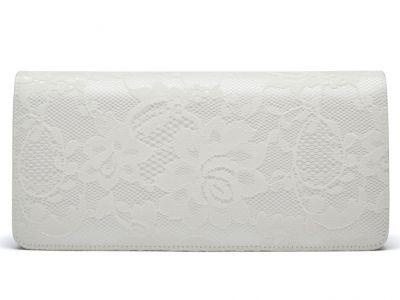Tilly - Ivory Classic Lace Bridal Handbag
